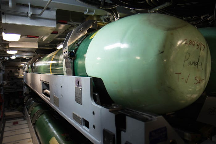 Mỹ phê duyệt thỏa thuận 180 triệu USD bán ngư lôi cho Đài Loan