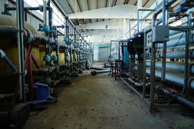 """Nhà máy lọc nước """"triệu đô"""" bỏ hoang ở Cần Giờ - 6"""