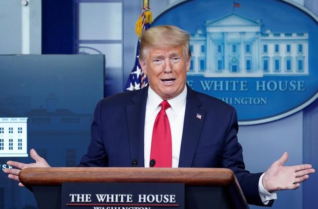 Tổng thống Trump góp toàn bộ tiền lương chống dịch Covid-19 - 1