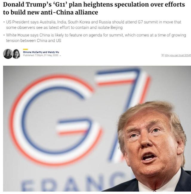 Ông Donald Trump tính lập liên minh mới, dồn Trung Quốc vào khó khăn lịch sử - 2