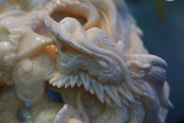Chiêm ngưỡng bức Cửu Long Tranh Châu bằng vỏ sò nghìn năm tuổi - 4