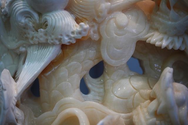 Chiêm ngưỡng bức Cửu Long Tranh Châu bằng vỏ sò nghìn năm tuổi - 6