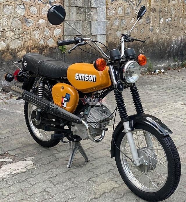 Xe máy Simson huyền thoại 31 năm tuổi giá 150 triệu đồng - 1