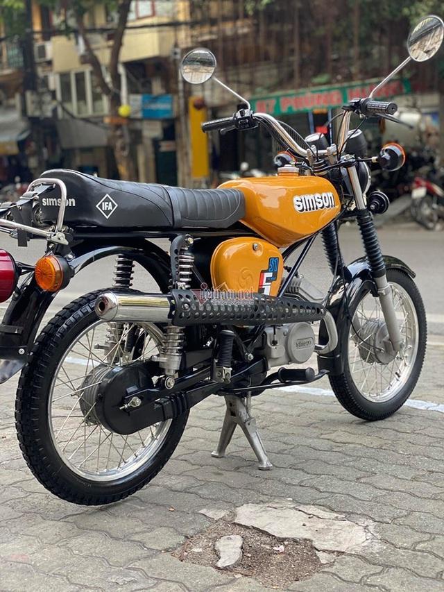Xe máy Simson huyền thoại 31 năm tuổi giá 150 triệu đồng - 4