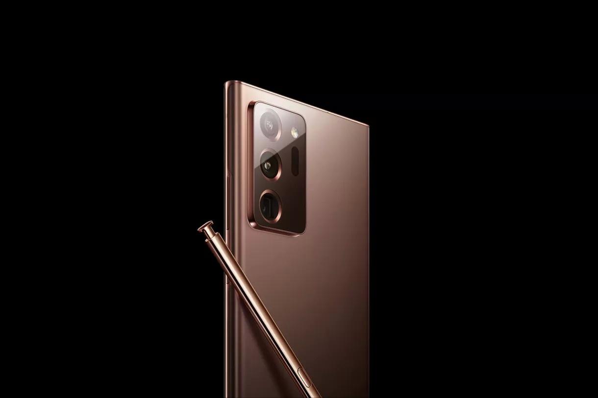 Samsung vô tình làm lộ ảnh Galaxy Note20 trên trang web của mình