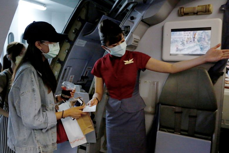 Check in but never take off: Taiwan offers fake flights to travel ...