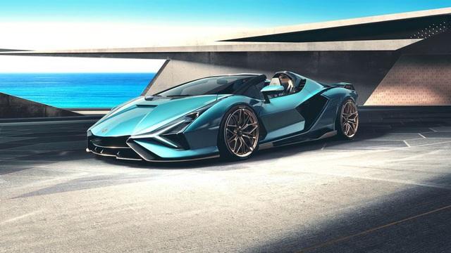Siêu xe mui trần Lamborghini Sián chưa ra mắt đã bán hết veo - 1