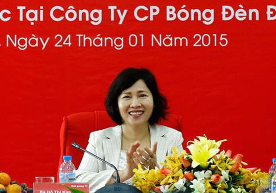 """Sự nghiệp """"lừng lẫy"""" và ồn ào của bà Hồ Thị Kim Thoa"""