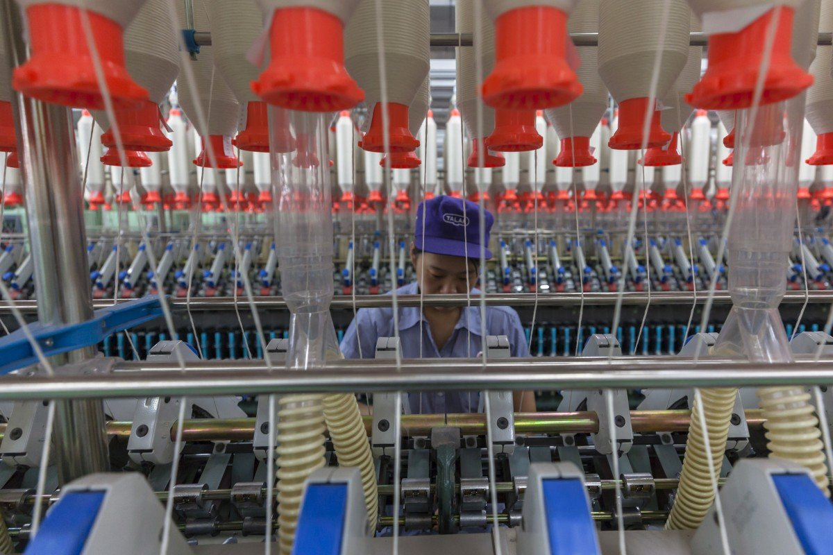 China's industrial base has recovered strongly from its coronavirus shutdown in the first two months of the year, while many alternative markets are still struggling to contain their outbreaks and return to work. Photo: EPA-EFE