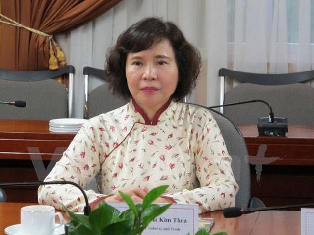 Bộ Công an truy nã cựu Thứ trưởng Bộ Công Thương Hồ Thị Kim Thoa - 1