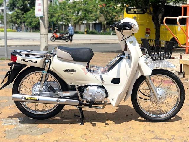 Honda Super Cub 110 cũ hàng hiếm giá hơn 100 triệu đồng - 4