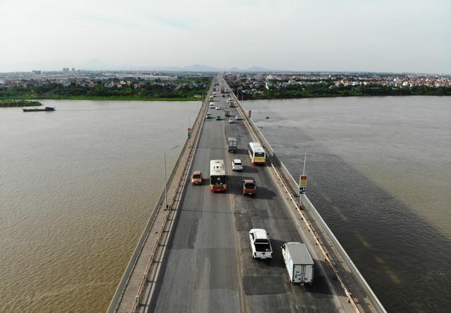 Cấm tuyệt đối các phương tiện qua cầu Thăng Long từ 6h sáng mai - 1