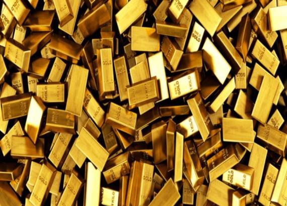 Giá vàng thế giới tăng vọt lên đỉnh 4 tuần