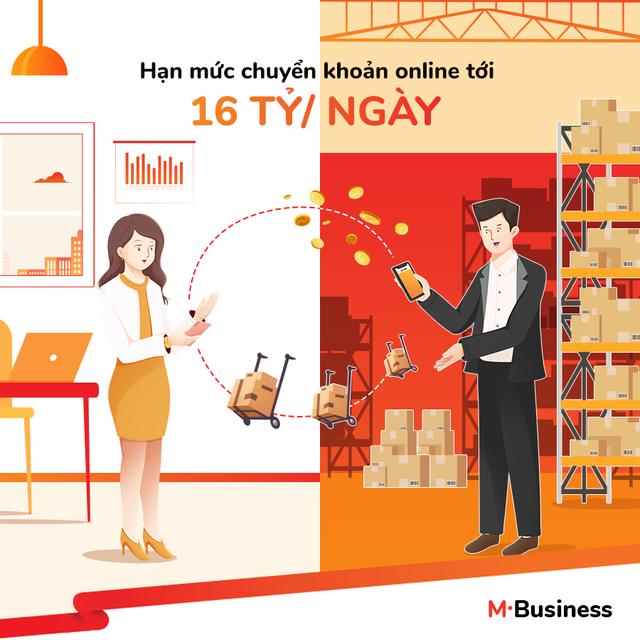 M-Business - Gói tài khoản thuận ích cho các chủ kinh doanh - 2