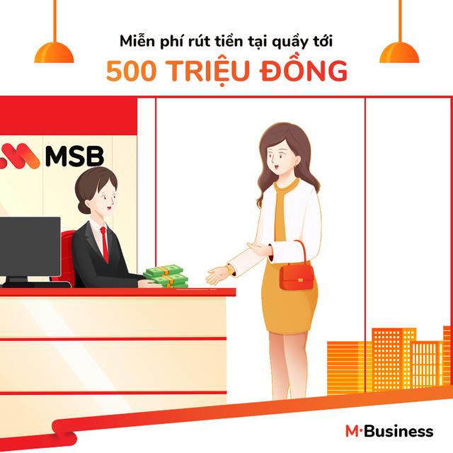 M-Business - Gói tài khoản thuận ích cho các chủ kinh doanh - 3
