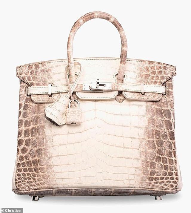 Sốc: 7 tỷ đồng cho một túi xách Hermes làm bằng da cá sấu - 1