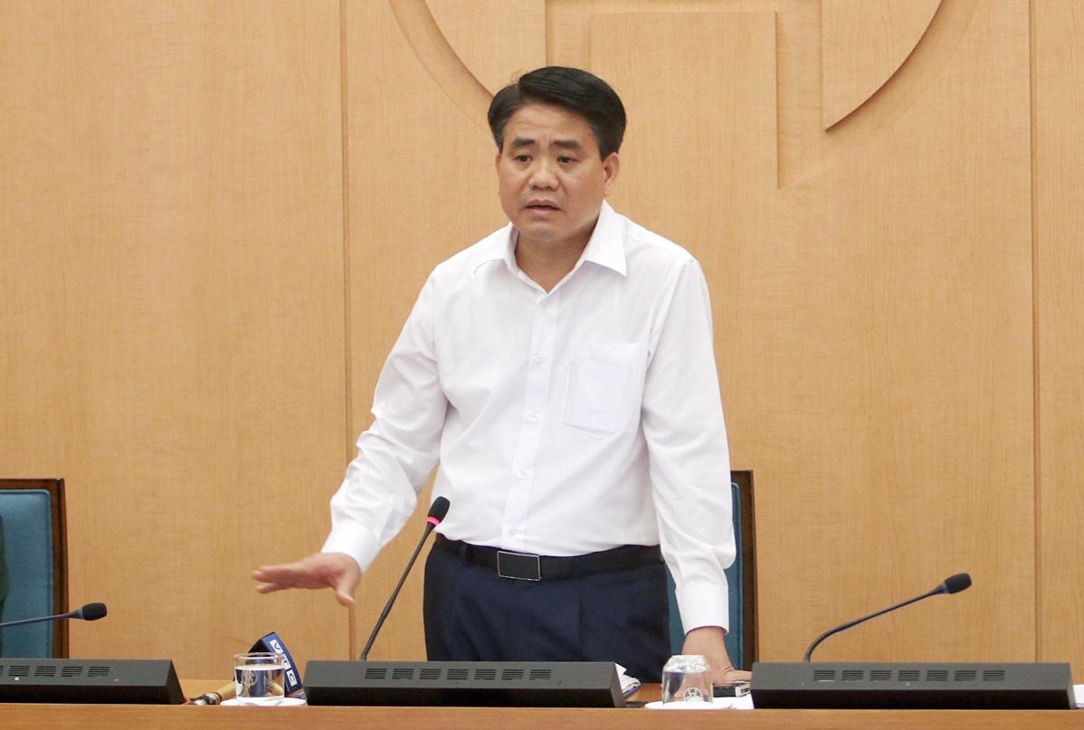 Chủ tịch Hà Nội: 20.000 bộ test nhanhưu tiên cho người từ Đà Nẵng trở về