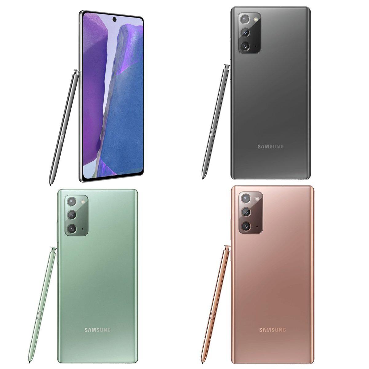 """Lộ giá bán """"chát"""" của bộ đôi Galaxy Note20 và Galaxy F Fold 2 sắp ra mắt"""