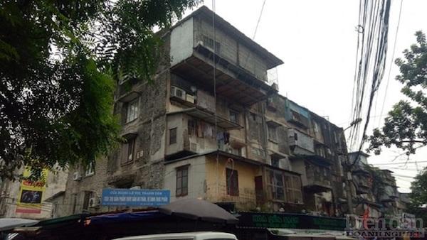 Ì ạch cải tạo chung cư cũ: Nhà đầu tư đang... bất lực