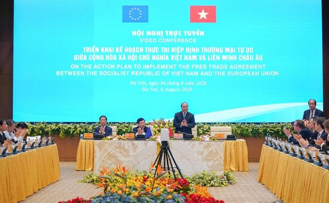 Thủ tướng: Chúng ta vui mừng EVFTA có hiệu lực, nhưng đây mới là bước đầu! - 1