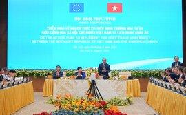Thủ tướng: Chúng ta vui mừng EVFTA có hiệu lực, nhưng đây mới là bước đầu!