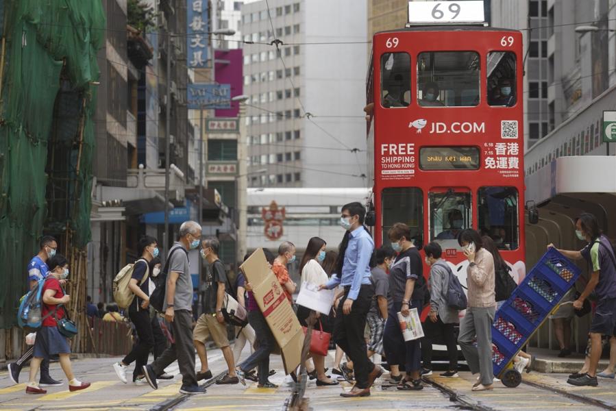 Gần 40% doanh nghiệp Mỹ cân nhắc rời khỏi Hồng Kông
