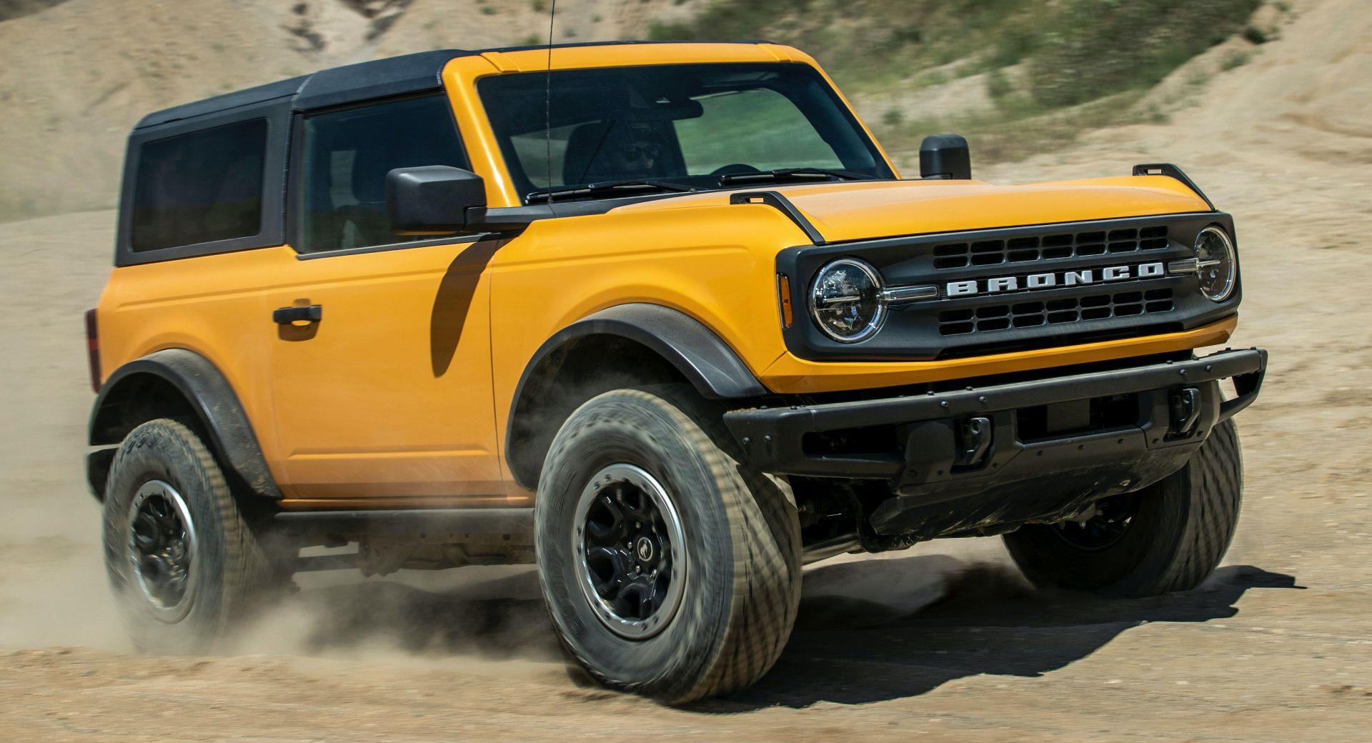 Ford Bronco vẫn