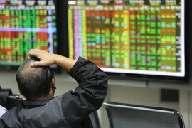 """Cổ phiếu ngân hàng đồng loạt tăng, VN-Index gặp khó với """"họ"""" Vin"""