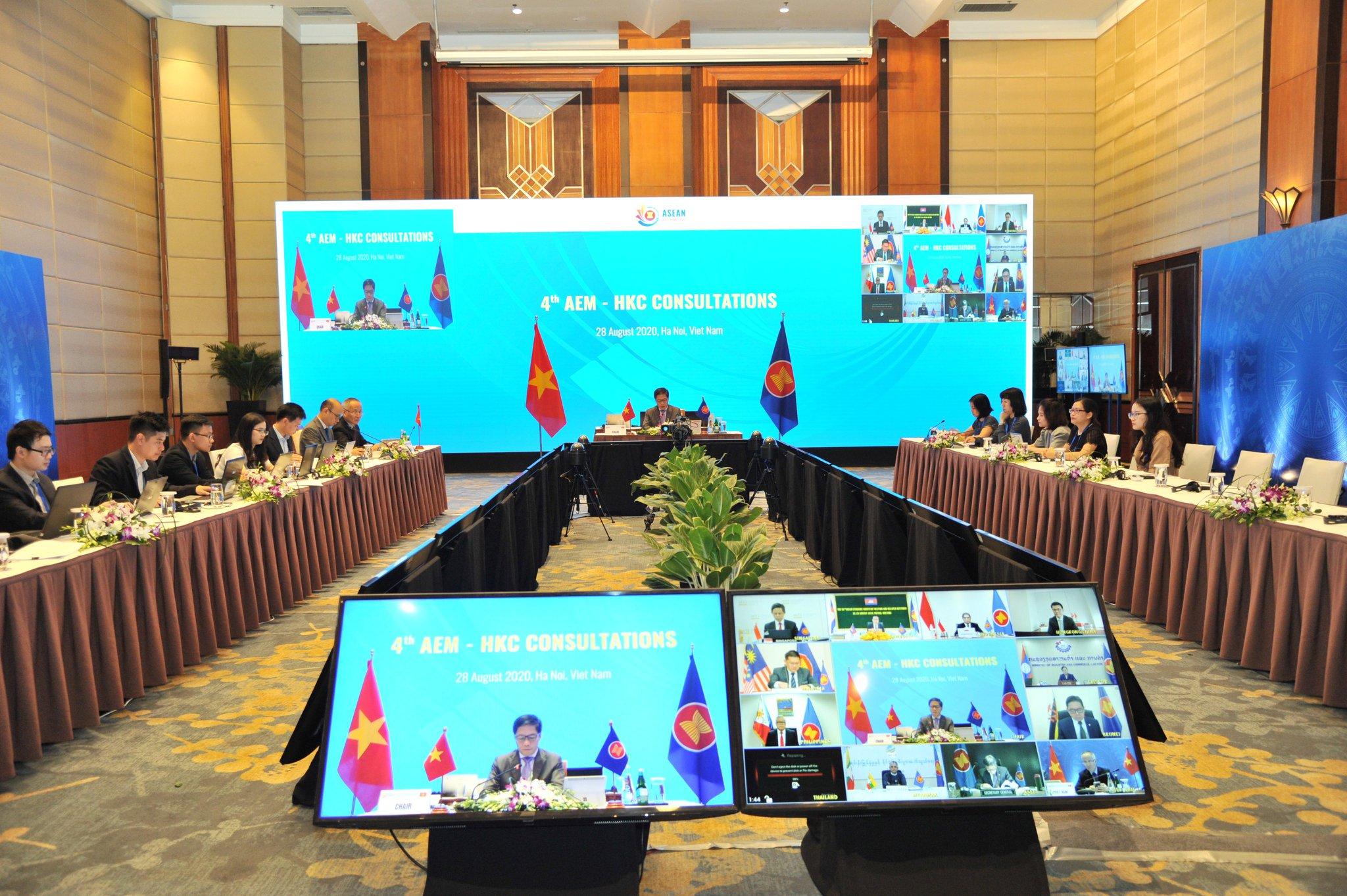 Tận dụng FTA giúp ASEAN phục hồi sự tăng trưởng sau Covid-19