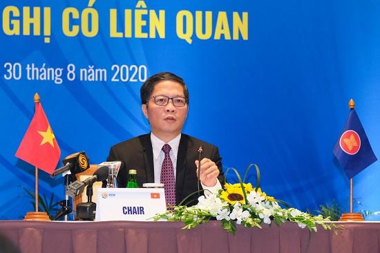 ASEAN thúc đẩy phục hồi kinh tế, chuỗi cung ứng sản xuất sau Covid-19