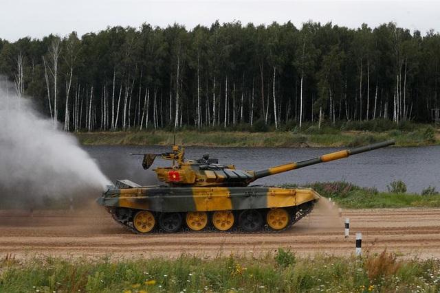 Đội xe tăng Việt Nam thi đấu xuất sắc, về nhất tại chung kết Army Games - 2