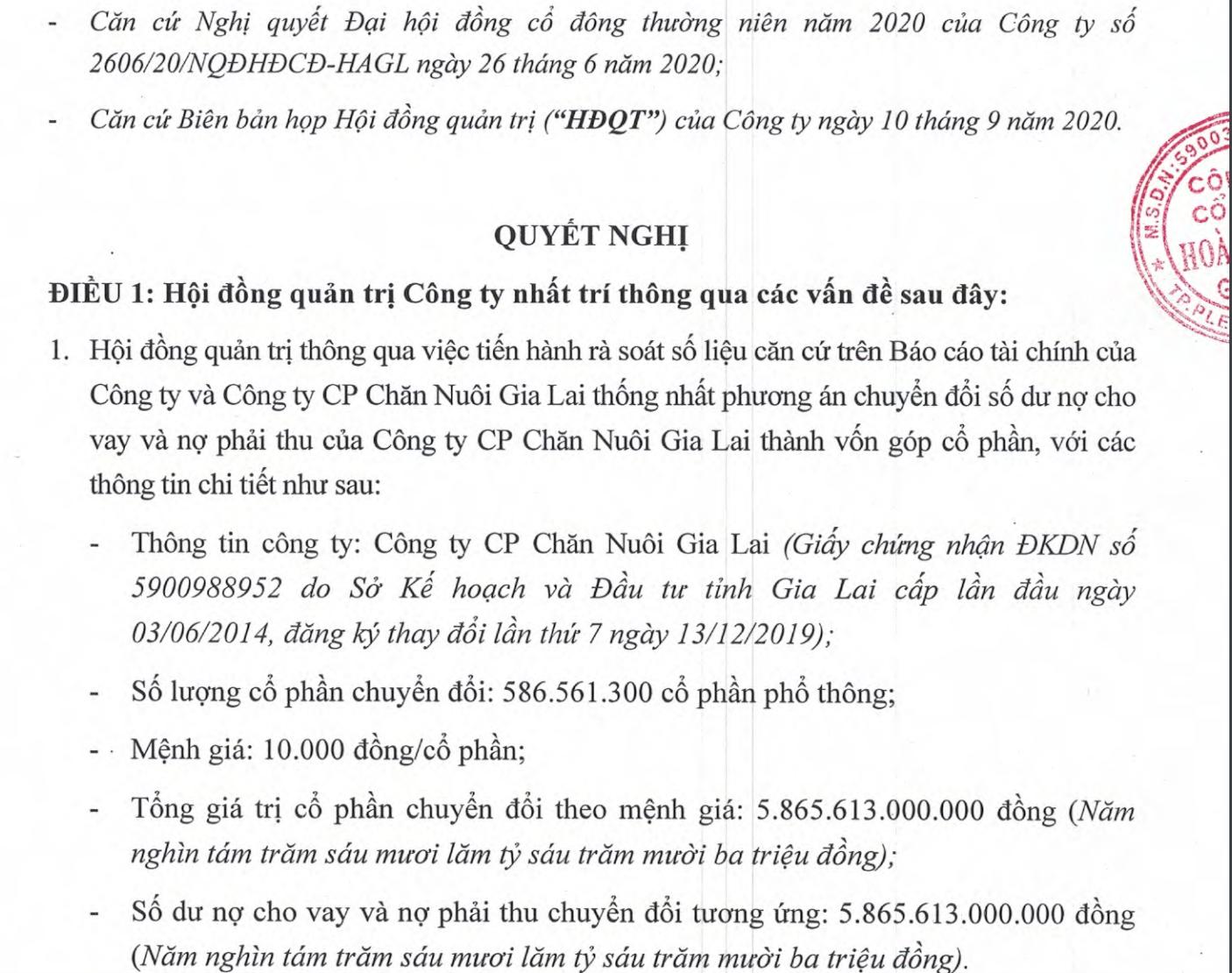 """Chỉ một động thái, bầu Đức """"xoá nợ"""" gần 5.900 tỷ đồng cho một công ty"""