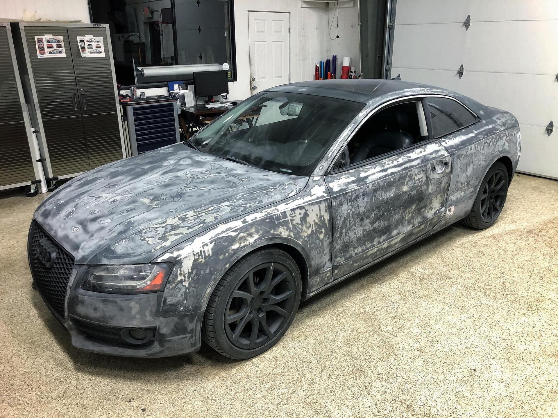 Màn hồi sinh nuột nà khó tin của một chiếc Audi A5 bỏ đi