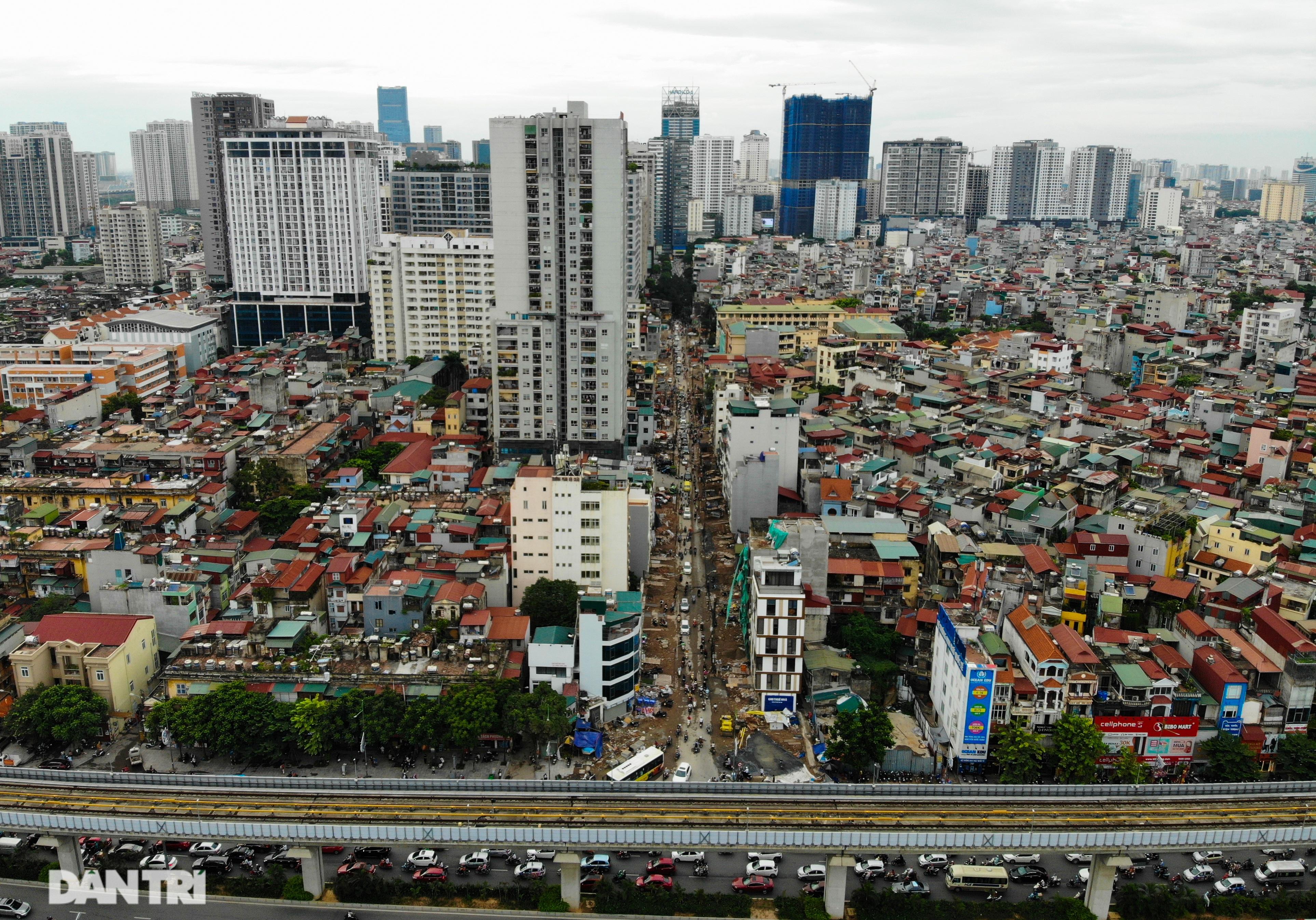 Hà Nội: Hơn 400 mét đường ì ạch thi công gần 3 năm chưa xong