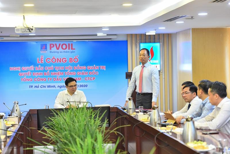 Ông Cao Hoài Dương chính thức trở thành Chủ tịch HĐQT PV Oil