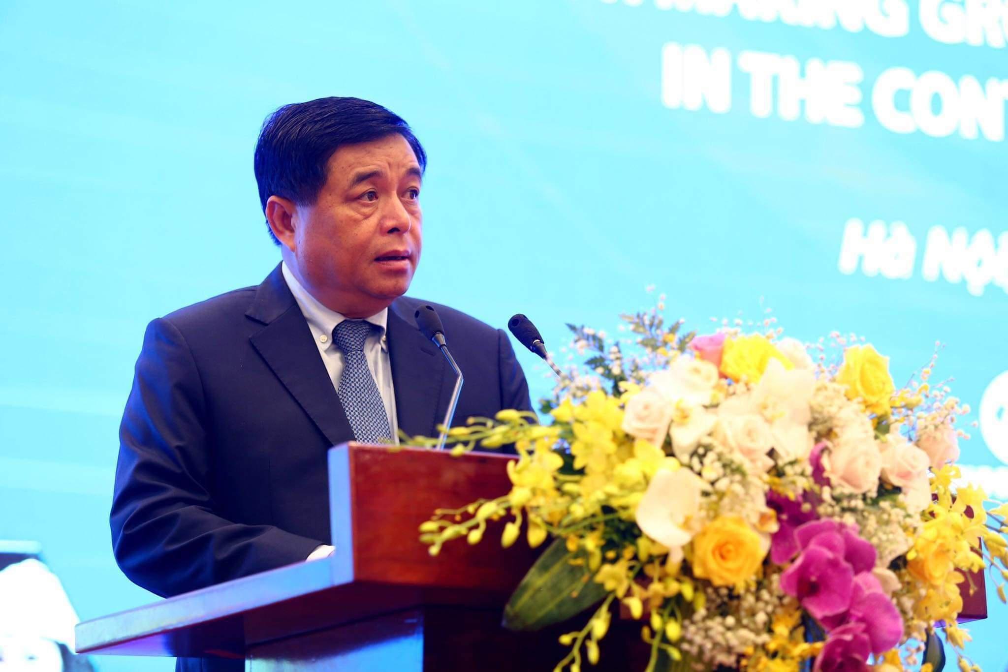 Bộ trưởng Nguyễn Chí Dũng: Việt Nam phải có tư duy vượt lên, không đi theo