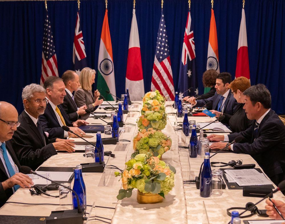 """""""Bộ Tứ"""" sắp nhóm họp, gửi thông điệp cứng rắn tới Trung Quốc"""