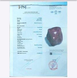 """Phát hiện giấy kiểm định đá quý """"dỏm"""" trị giá hàng chục tỷ đồng"""