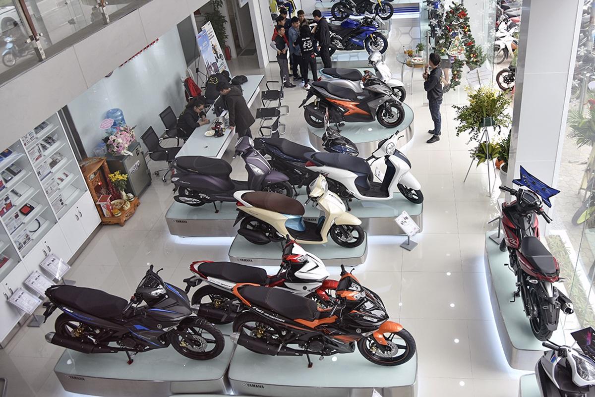 Thị trường xe máy tiếp tục ảm đạm, Honda sụt giảm mạnh