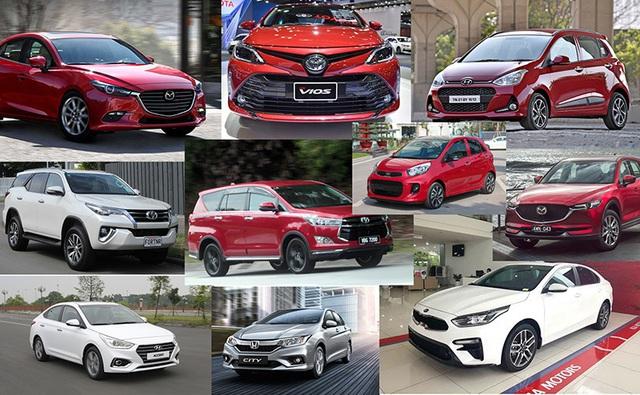 Giá ô tô cuối năm sẽ giảm vì áp lực thanh lý hàng tồn