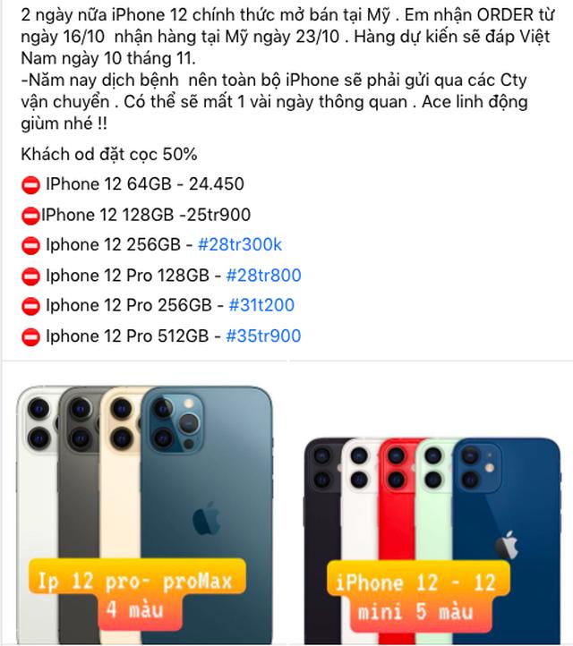 Bất chấp lệnh cấm, iPhone 12 xách tay sẵn hàng sau 3 ngày mở bán - 2