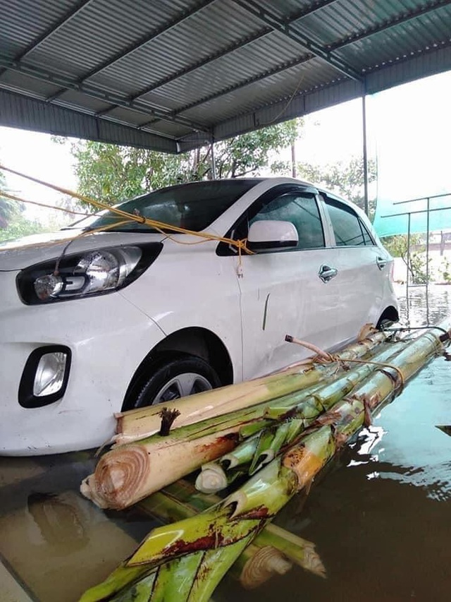 Muôn kiểu tránh ngập, chống bão cho ô tô được cư dân mạng chia sẻ rần rần - 3