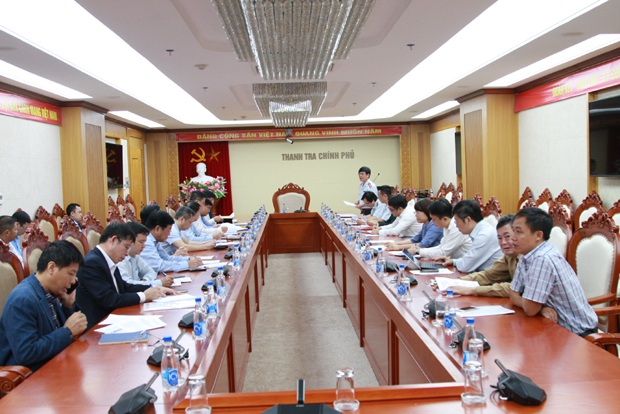Kiểm tra việc khắc phục sai phạm tại Tập đoàn Công nghiệp tàu thuỷ Việt Nam