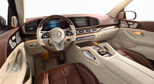 Mercedes-Maybach GLS 600 gây sốc vì giá bán - 15