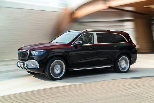 Mercedes-Maybach GLS 600 gây sốc vì giá bán - 5