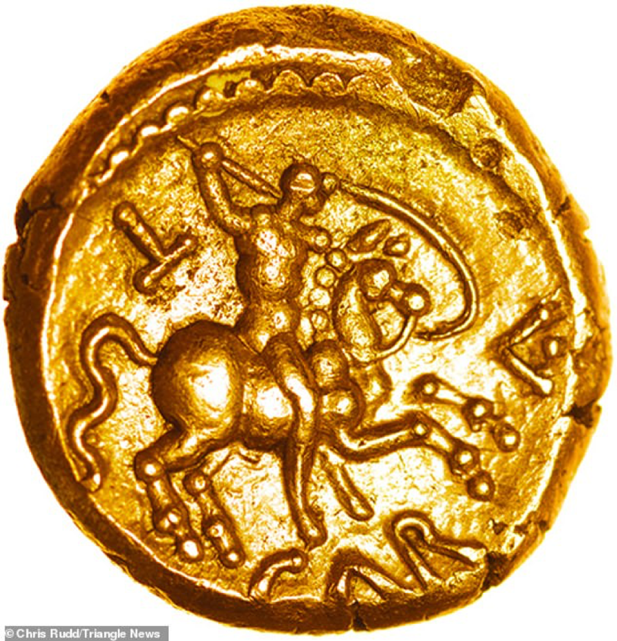 Đồng xu 2.000 năm tuổi