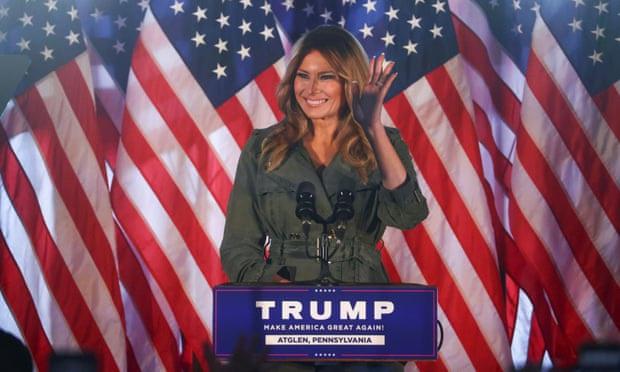 Bầu cử Mỹ 2020: Bà Melania Trump vận động tranh cử hiếm hoi cho chồng