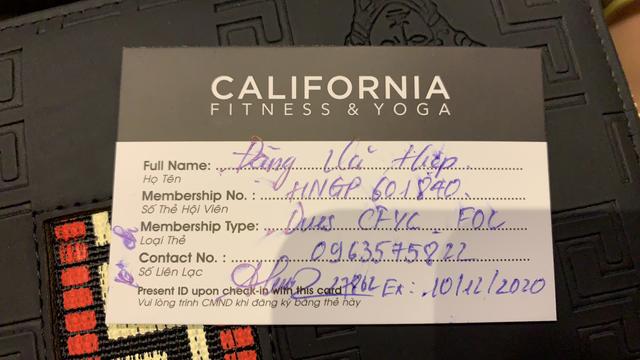 Mua thẻ tập gym California 1 năm vẫn liên tiếp bị trừ tiền hàng tháng - 4