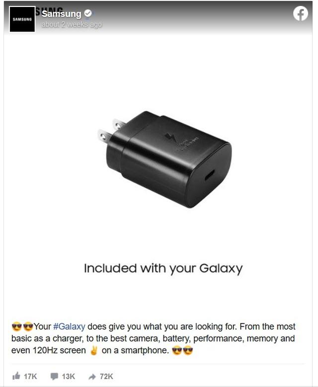 Nối gót Apple, Samsung có thể loại bỏ sạc và tai nghe trên Galaxy S21 - 2