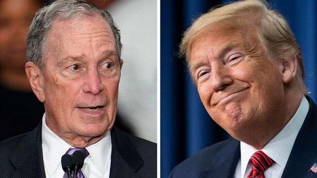 Trùm truyền thông Bloomberg đổ 15 triệu USD hỗ trợ Biden đấu với Trump - 1